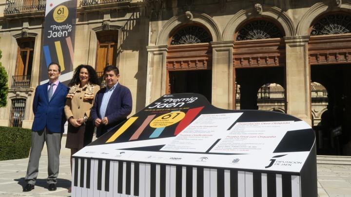 """Un total de 42 pianistas de 16 países se inscriben para participar en el 61º Premio """"Jaén"""" de Piano de la Diputación"""