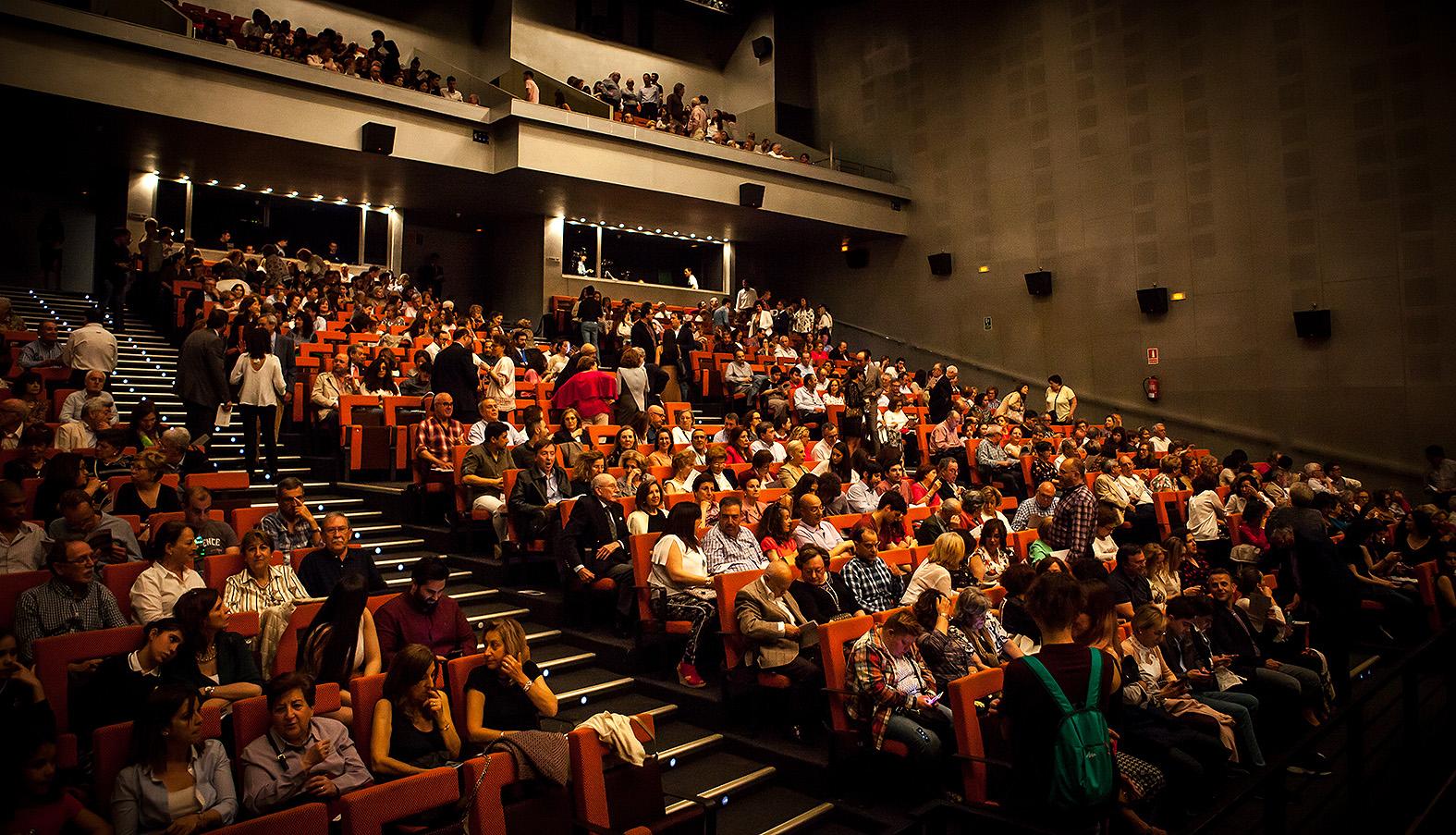 Público asistente a la final