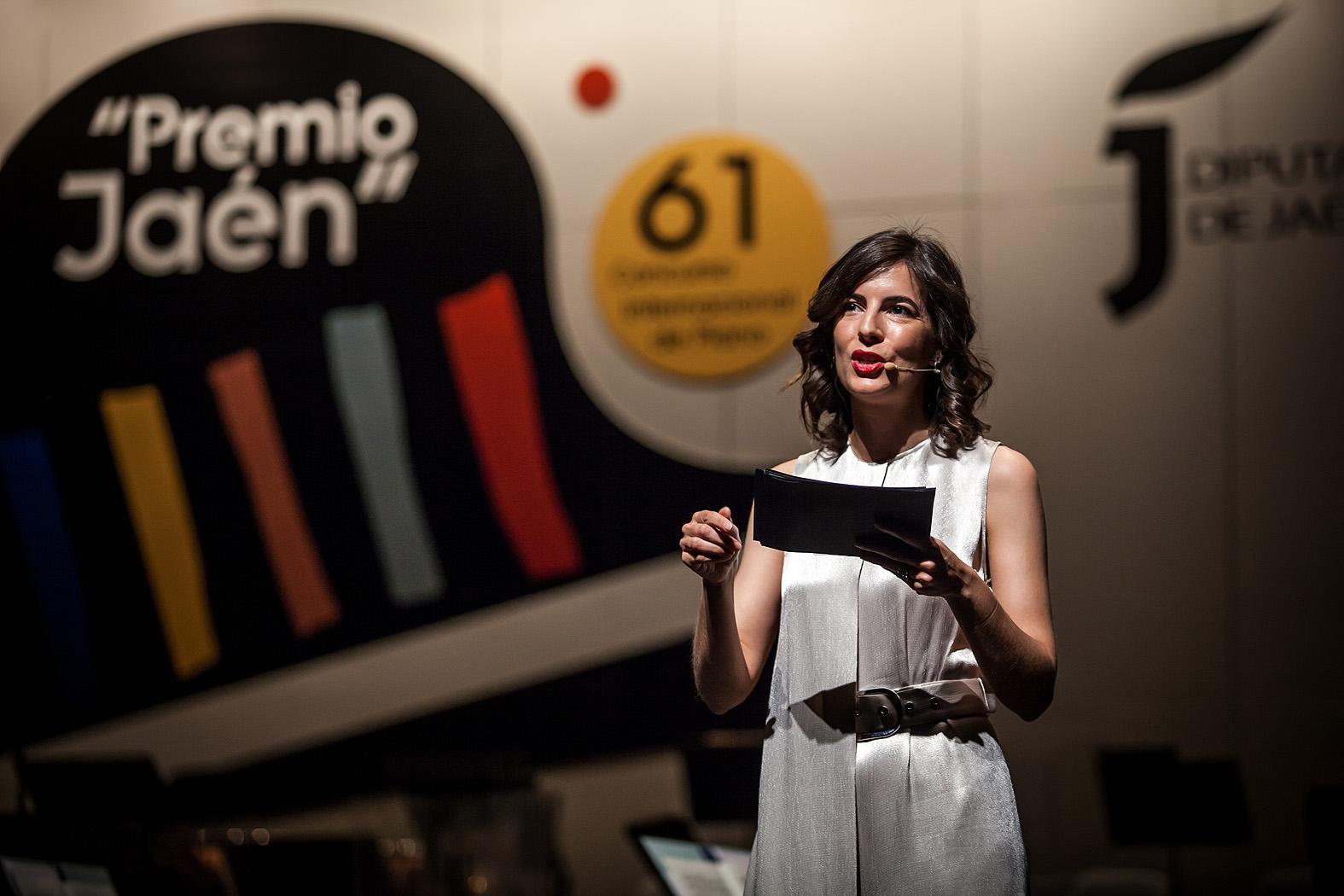 Olivia Aranda, presentadora de la final