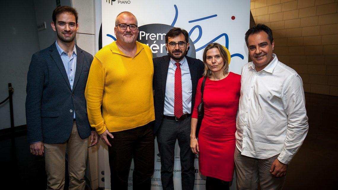 """Los semifinalistas del 60º Premio """"Jaén"""" de Piano ensayan junto al Cuarteto Bretón la prueba de música de cámara"""