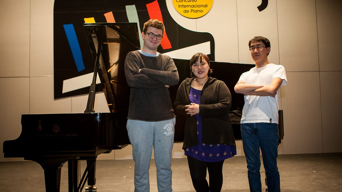 A Frenchman, an American and a Russian, finalists of the 61st Jaén International Piano Competition of the City Council