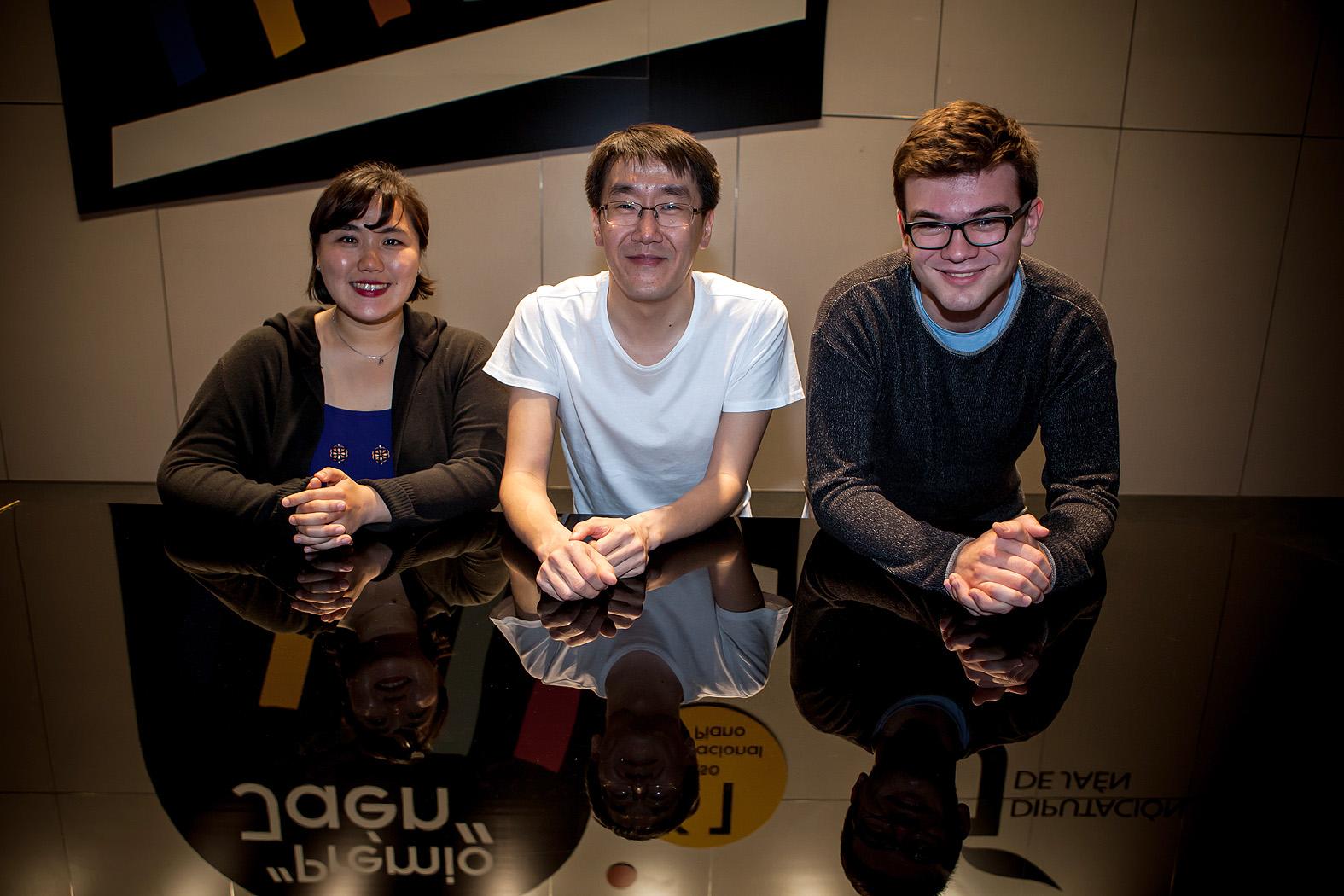 Los tres finalistas de esta edición