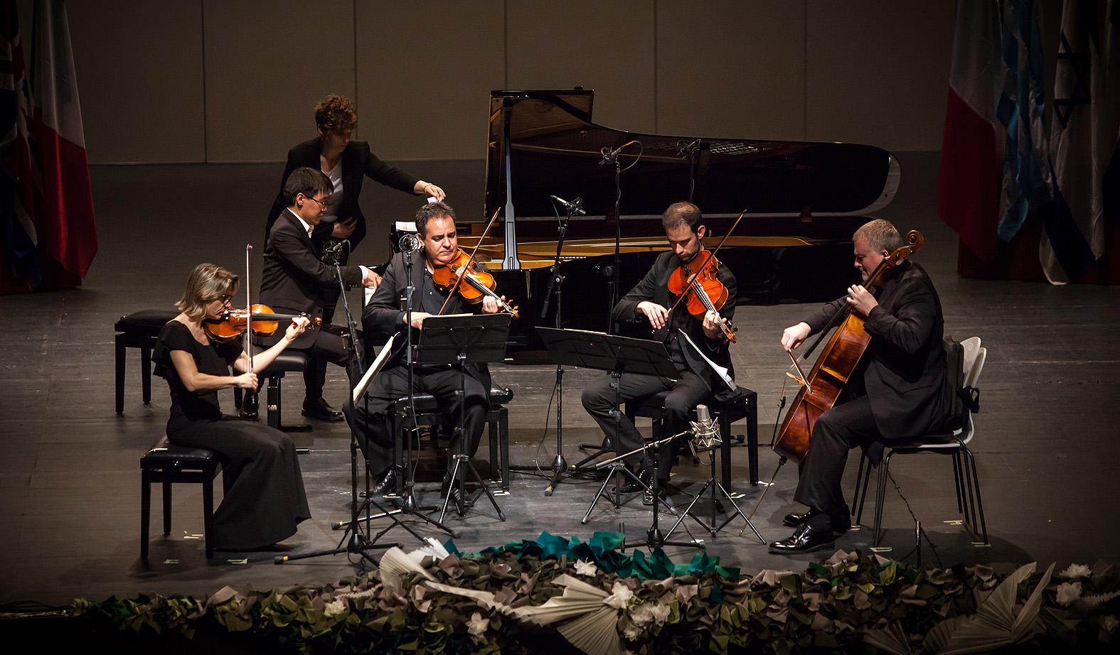 Alexander Koryakin / Rusia / En la semifinal con el Cuarteto Bretón