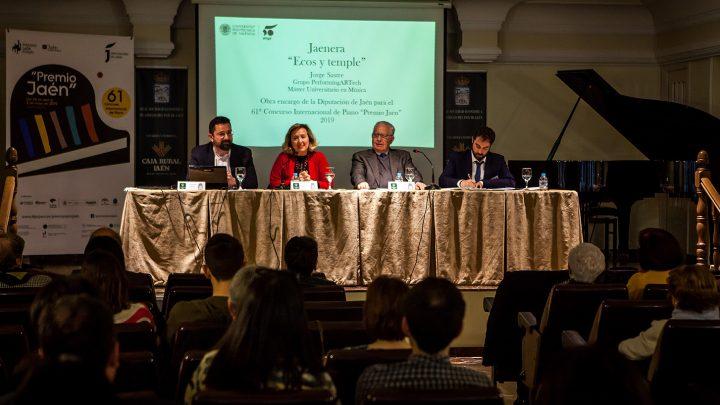 """Josep Colom inaugura hoy el 61º Premio """"Jaén"""" de Piano con un concierto """"en el que recorre tres siglos de historia"""""""