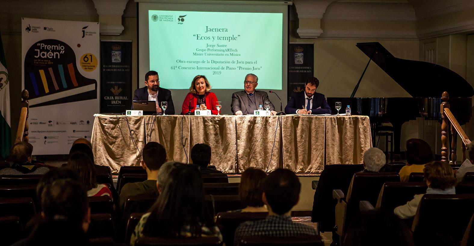 Encuentros con el compositor de la obra obligada / Jorge Sastre