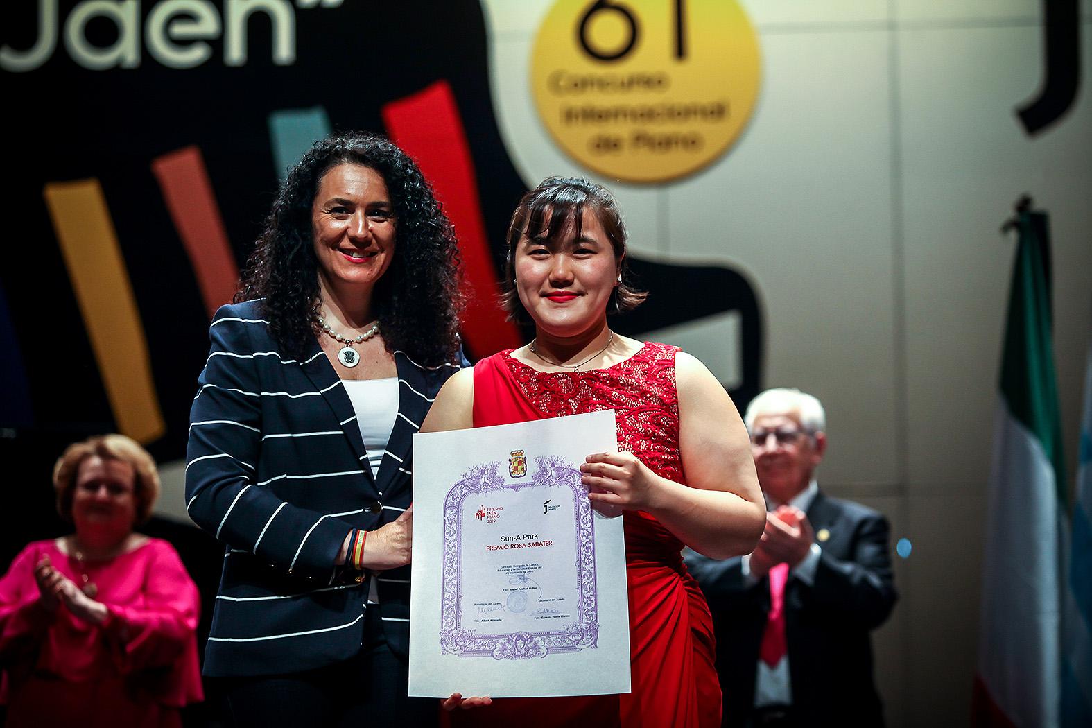 "Premio ""Rosa Sabater"": Sun-A Park"