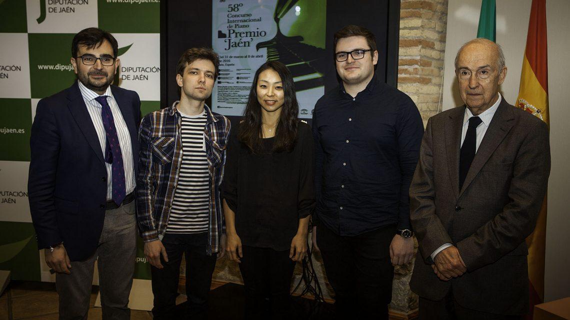 """Los finalistas del 58º Premio """"Jaén"""" de Piano de la Diputación valoran la organización y las instalaciones del concurso"""