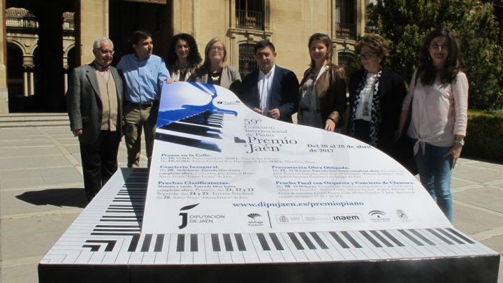 64 pianist from 17 countries enter the 59th Jaén Internacional Piano Prize