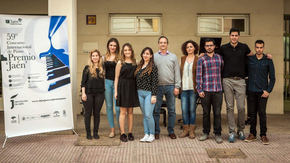 La celebración de conciertos de piano en la calle preludian el 59º Premio «Jaén» de Piano