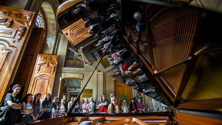 The 59th Jaén International Piano Competition begins in the street with concerts given by the conservatory students