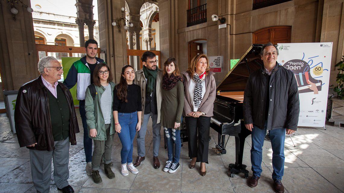 """El 60º Premio """"Jaén"""" de Piano comienza a sonar en la capital jiennense con conciertos de piano en la calle"""