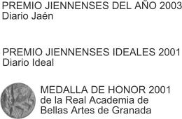 Premios Jiennenses del año