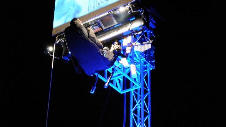 El espectáculo Floten Tecles abrirá el I Festival de Piano de Jaén desde un escenario a seis metros de altura