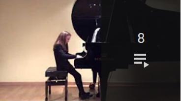 Acceso a la lista de vídeos de Mi piano 2015