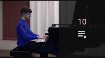 Acceso a la lista de vídeos de Mi piano 2017