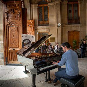 Pianos en la calle - Lonja de Diputación de Jaén