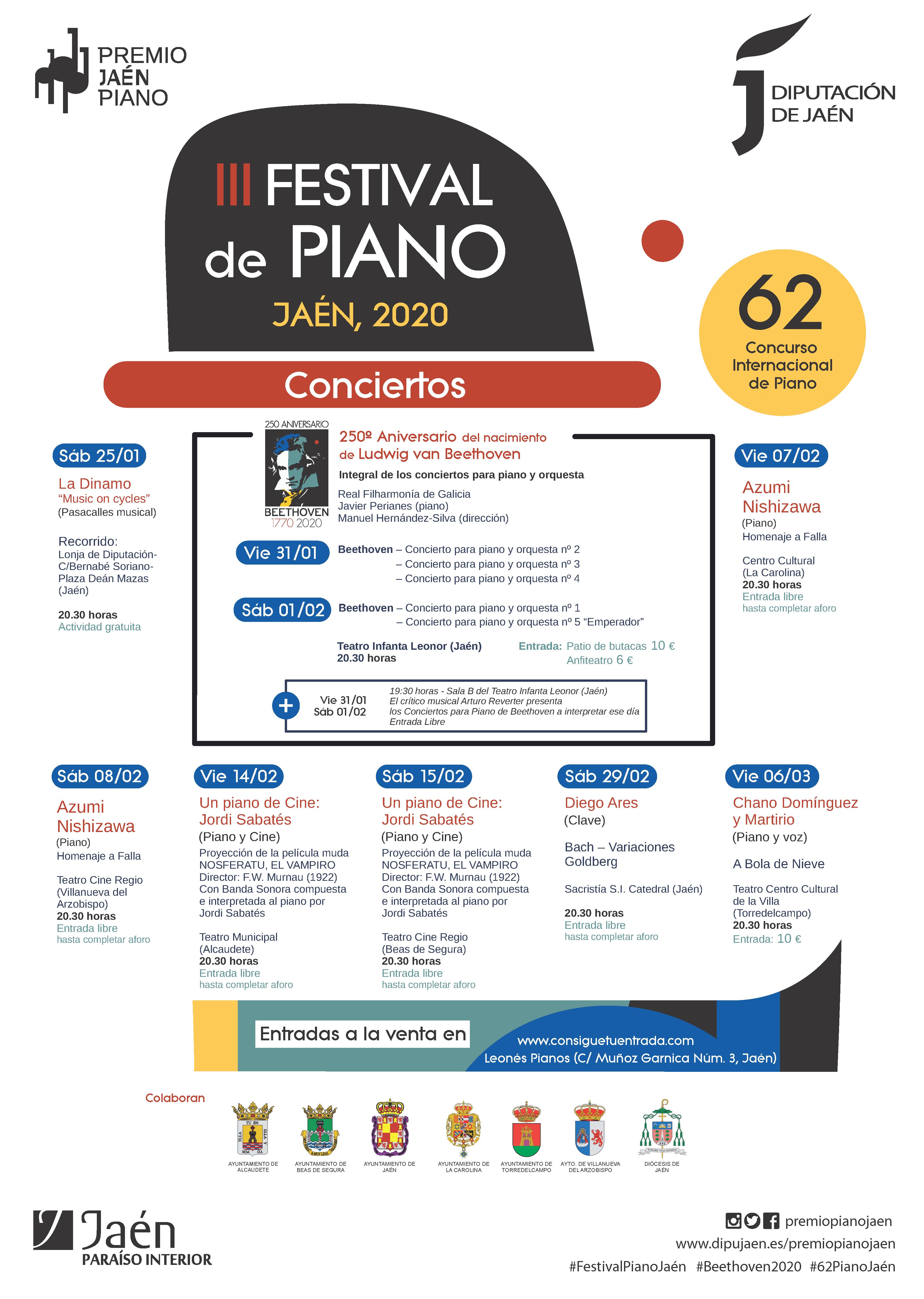 Cartel III Festival de Piano 2020