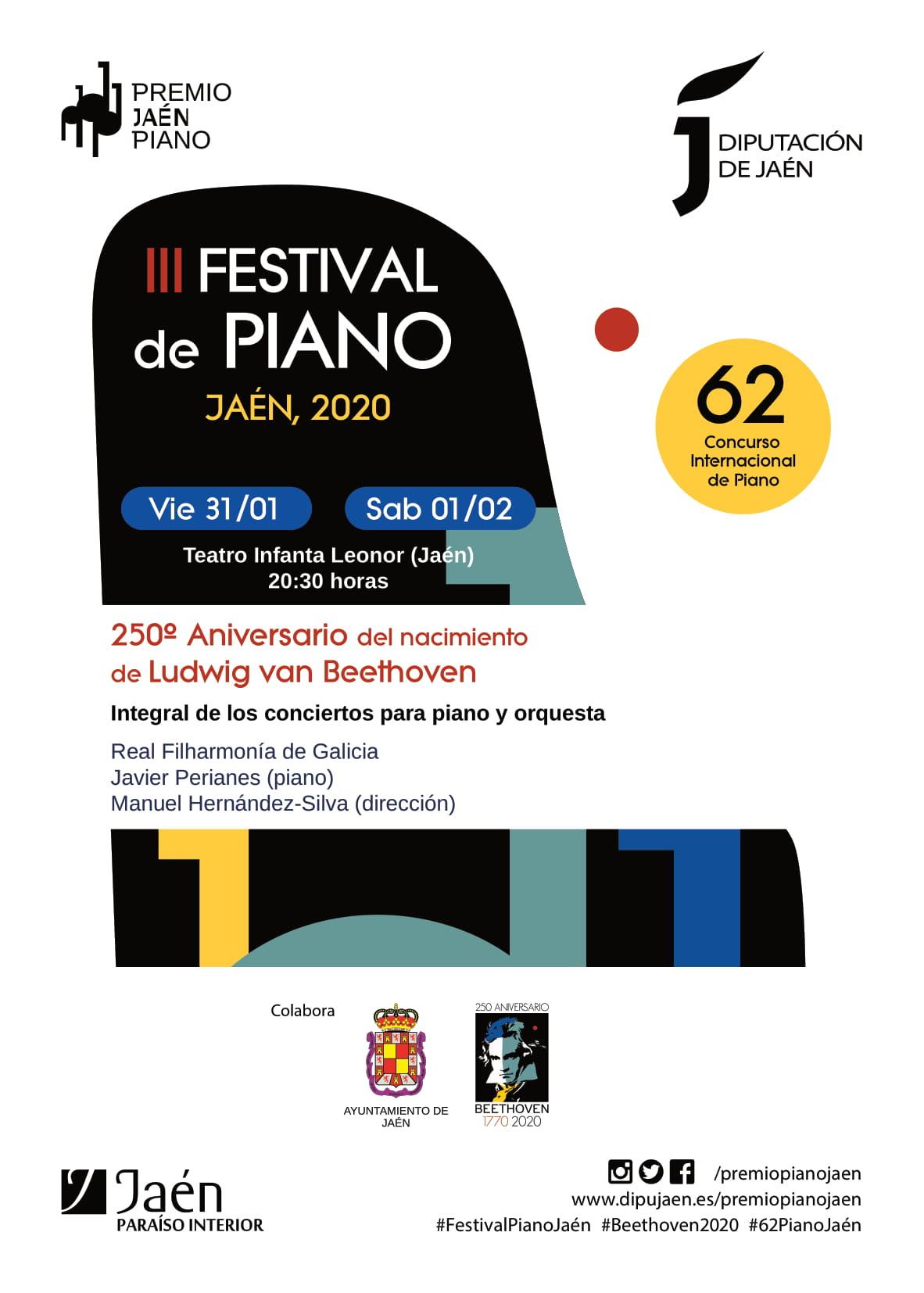 Cartel Festival Javier Perianes 31 y 1 de feb