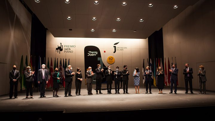 Russian pianist Valentin Malinin wins the 62nd edition of the Jaén International Piano Competition